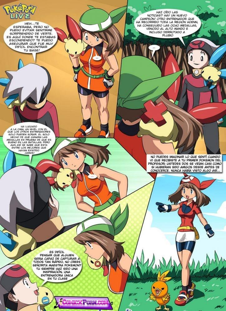 Ash y Down Follando