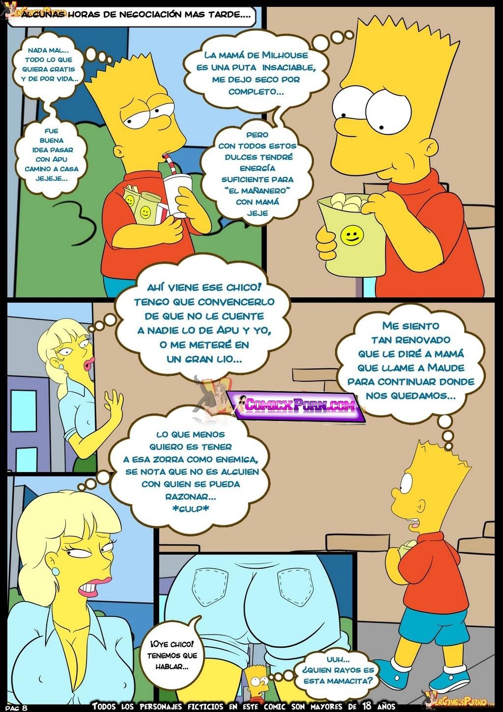 Comic porno los simpson