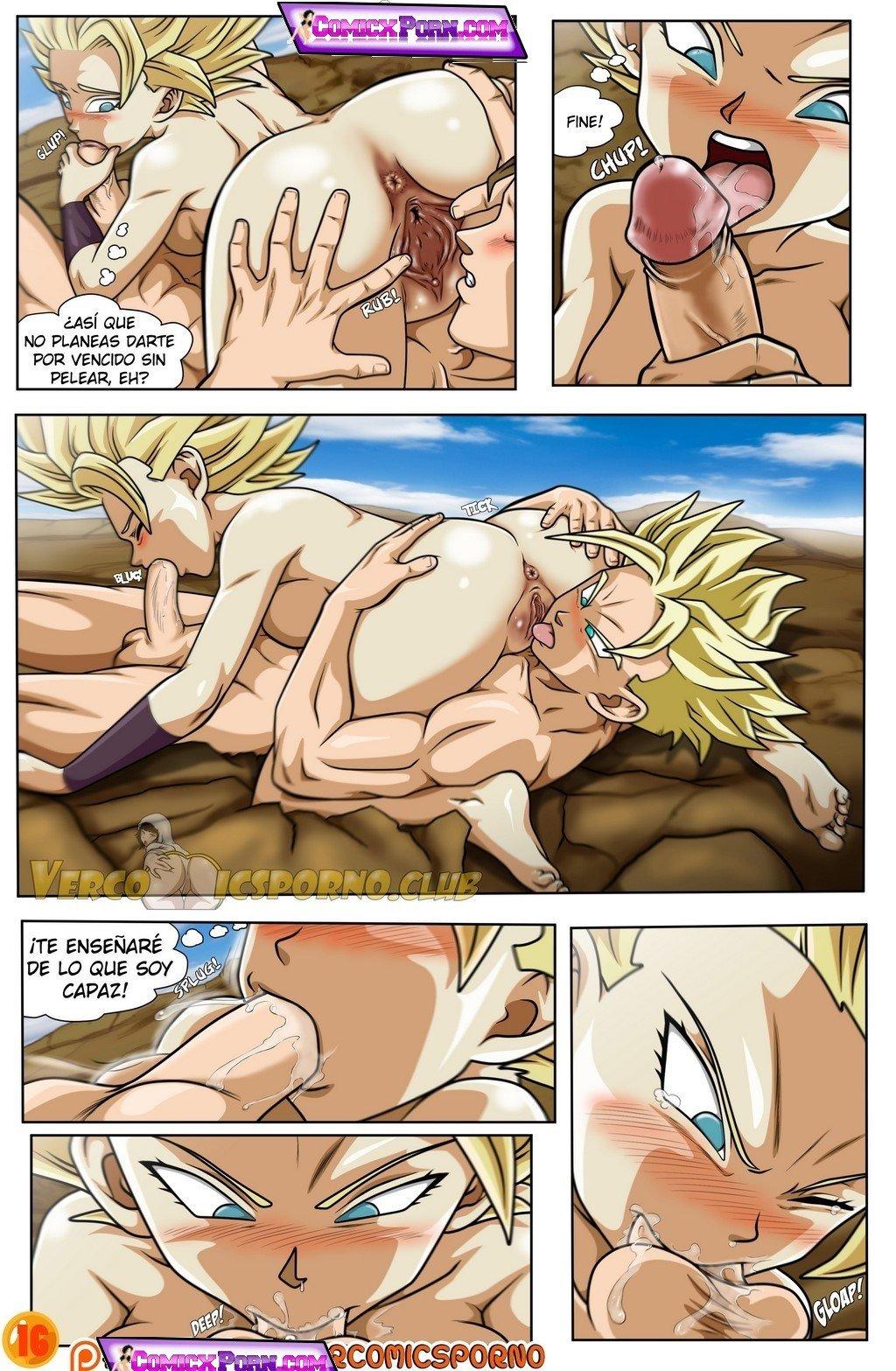 Comic porno de dragon ball