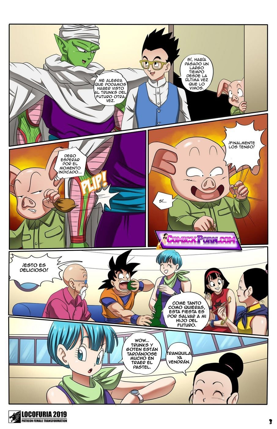 Comic porno dragon ball